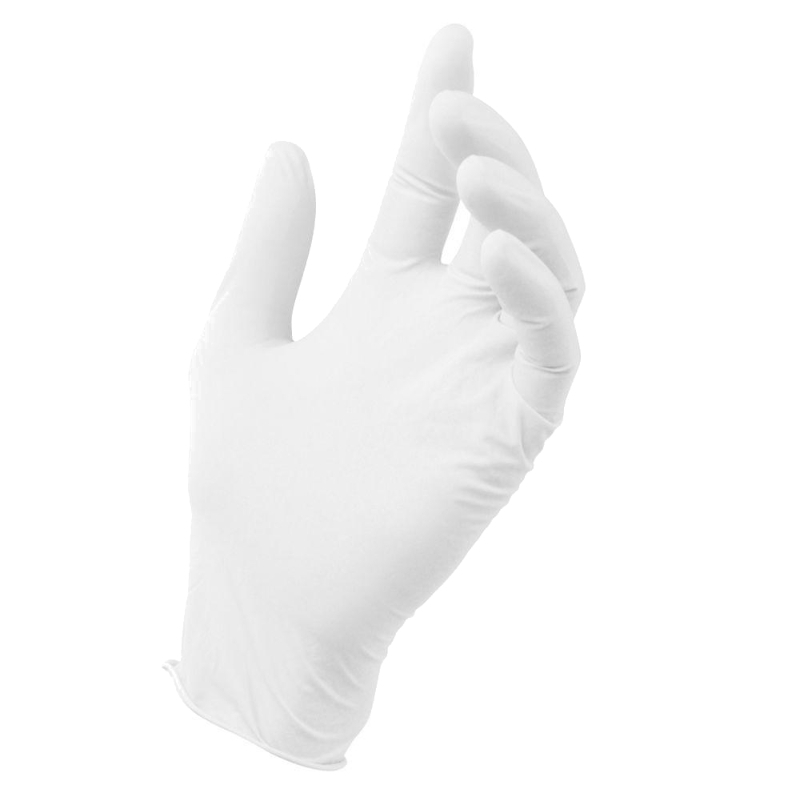 07a1b82296ee5b Rękawice lateksowe bezpudrowe Protects Clinic 100 szt rozmiar L; Rękawiczki  lateksowe bezpudrowe (L) 100szt