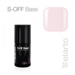Żel UV/LED różowy mleczny S-Off Base 15ml
