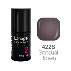Lakier hybrydowy Lacogel nr 422S - Sensual Brown 7ml