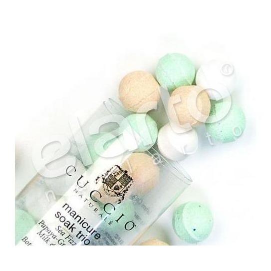 Kulki musujące mix 3 rodzaje kulek do manicure / pedicure 24szt