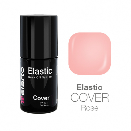 Żel hybrydowy Elastic Cover Gel Rose 7ml