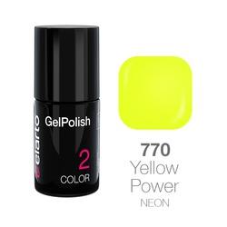 Żel hybrydowy GelPolish nr 770 - Yellow Power 7ml