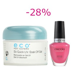 Eco So Quick U.V. Gel różowy 28 g