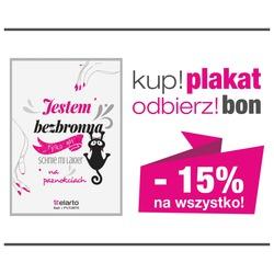 Kup plakat -odbierz bon 15% rabatu na wszystkie produkty