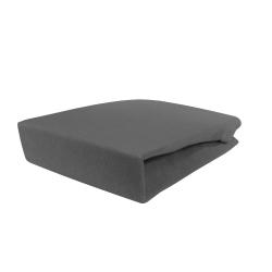Pokrowiec welurowy na fotel / łóżko kosmetyczne 70x210x10cm, szary