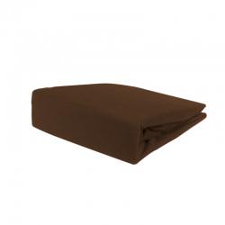 Pokrowiec welurowy na fotel / łóżko kosmetyczne 70x190x10cm, brązowy