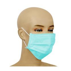 Maseczka ochronna na twarz (turkusowa) 1szt