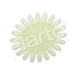 Wzornik lakierów owalny (mleczny) 20szt