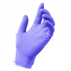 Rękawiczki nitrylowe (M) 10szt
