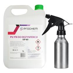 Płyn ISP 60 do dezynfekcji skóry i powierzchni 5l+butelka 200ml