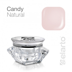 Żel UV/LED beżowo-różowy gęsty Candy Natural 15g