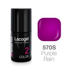 Lakier hybrydowy Lacogel nr 570S - Purple Rain 7ml