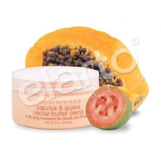 Masło z wyciągiem z papai&nektaru z guawy do dłoni, stóp, ciała 226ml