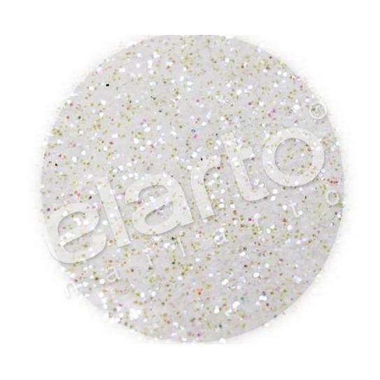 Brokat w fiolce - biały opaliz. na fioletowo standard