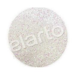 Brokat w fiolce - biały opaliz. na różowo/zielono standard