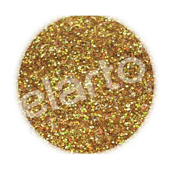 Brokat w fiolce - złoty hologramowy standard