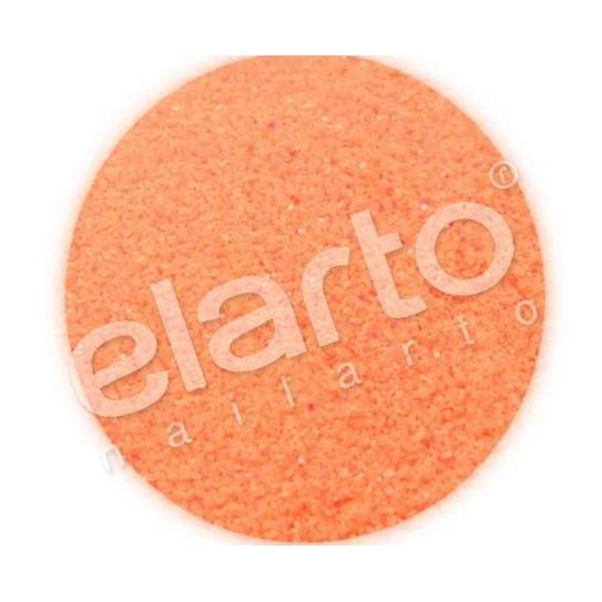 Brokat w fiolce - pomarańczowy matowy fluo standard
