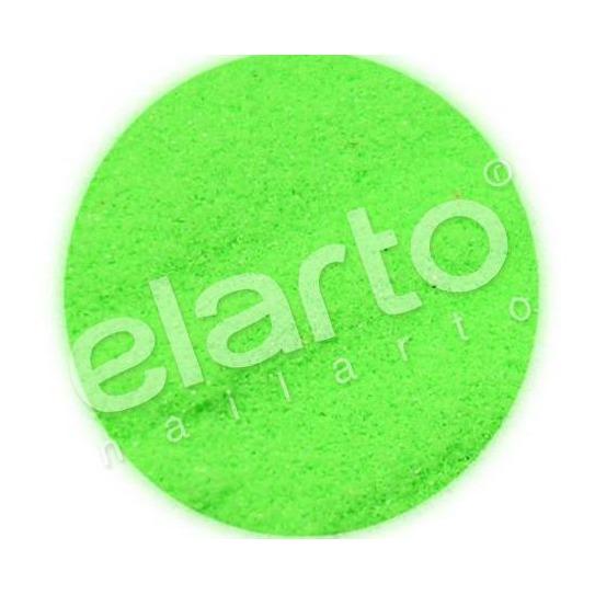 Brokat w fiolce - zielony matowy fluo standard