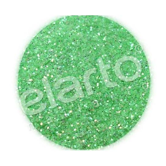 Brokat w fiolce - zielony jasny standard