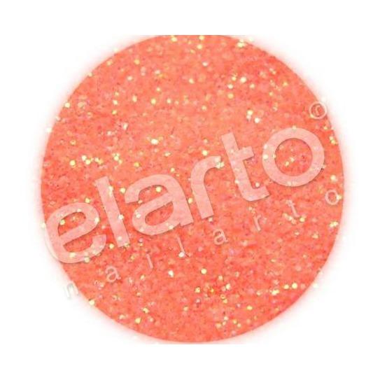 Brokat w fiolce - pomarańczowy neonowy standard