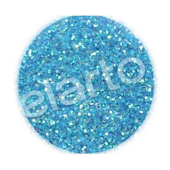 Brokat w fiolce - niebieski standard