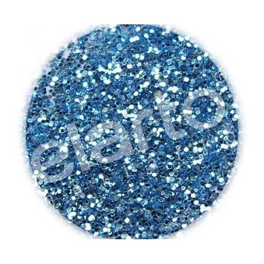 Brokat w fiolce - niebieski metaliczny standard