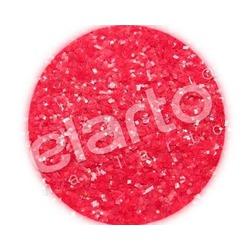 Brokat w fiolce - czerwony matowy gruby