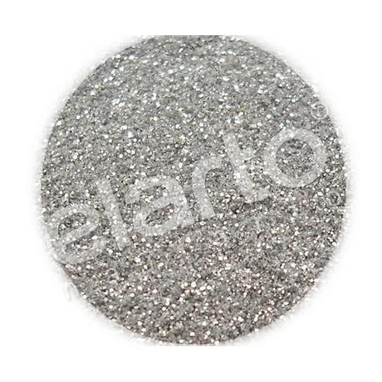 Brokat w fiolce - srebrny pyłek