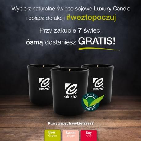 Świece sojowe Luxury Candle 7+1 gratis