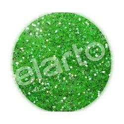 Brokat w fiolce - wiosenna zieleń standard