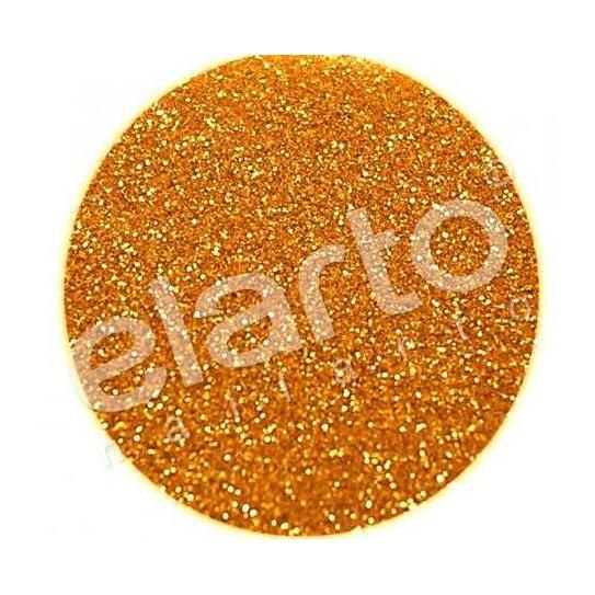 Brokat w fiolce - złoto/miedziany pyłek