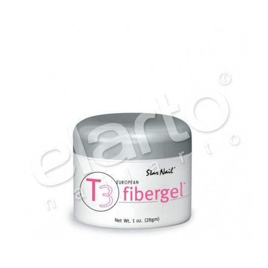 Fibergel T3 średniogęsty różowy mleczny Pink 28 ml