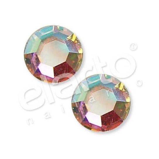 Crystal Aurore Boreale SS 6 srebrna opalizująca 100 szt.