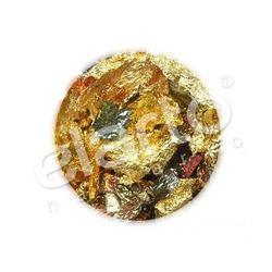 Folia w arkuszu różnokolorowa: złoto, zieleń