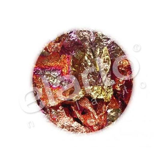 Folia w arkuszu różnokolorowa: czerwień, miedź