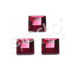 Kwadrat Light Siam MM 3x3 czerwony 50 szt.