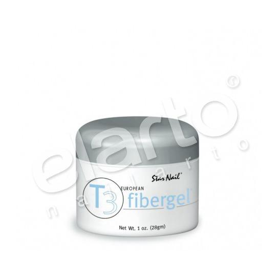 Fibergel T3 średniogęsty bezbarwny Clear 30 ml