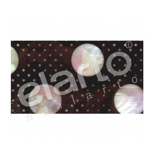 Taśma perlmutowa / muszlowa kropeczki