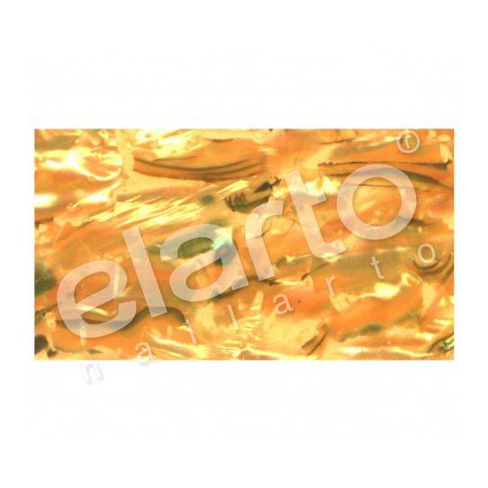 Taśma perlmutowa / muszlowa żółta