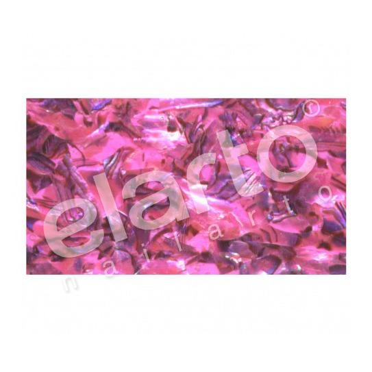 Taśma perlmutowa / muszlowa różowa