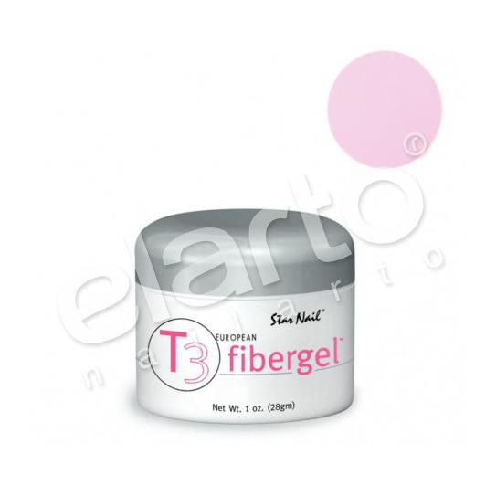 Fibergel T3 średniogęsty różowy różowszy Strike A Pose Pink 30 ml