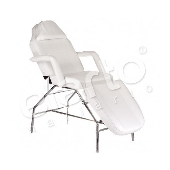 Fotel kosmetyczny biały