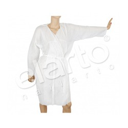 Szlafrok włókninowy biały 1 szt.