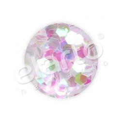 Opalizujące plastry miodu / hologramy białe