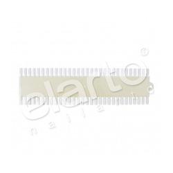 Wzornik lakierów prostokątny (mleczny) 48szt